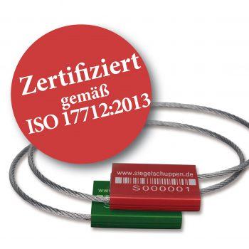 Zertifizierte_Drahtsiegel_ISO2013 - www.siegelschuppen.de